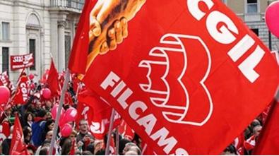 bandiera Filcams Cgil