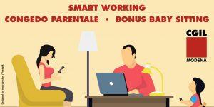Smart working, congedo parentale, bonus baby sitting: le novità previste nel decreto legge n.30 del 13 marzo 2021