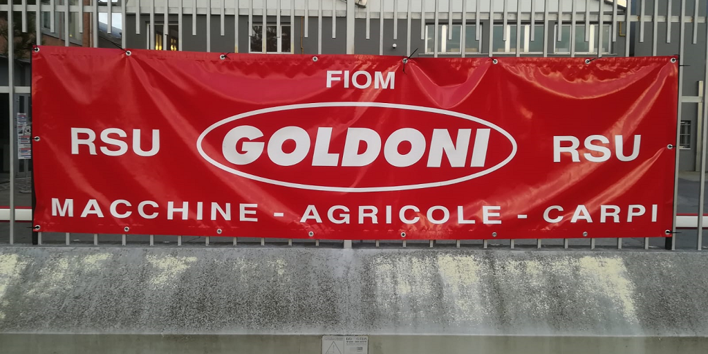 Goldoni macchine agricole Carpi - Rsu Fiom Cgil