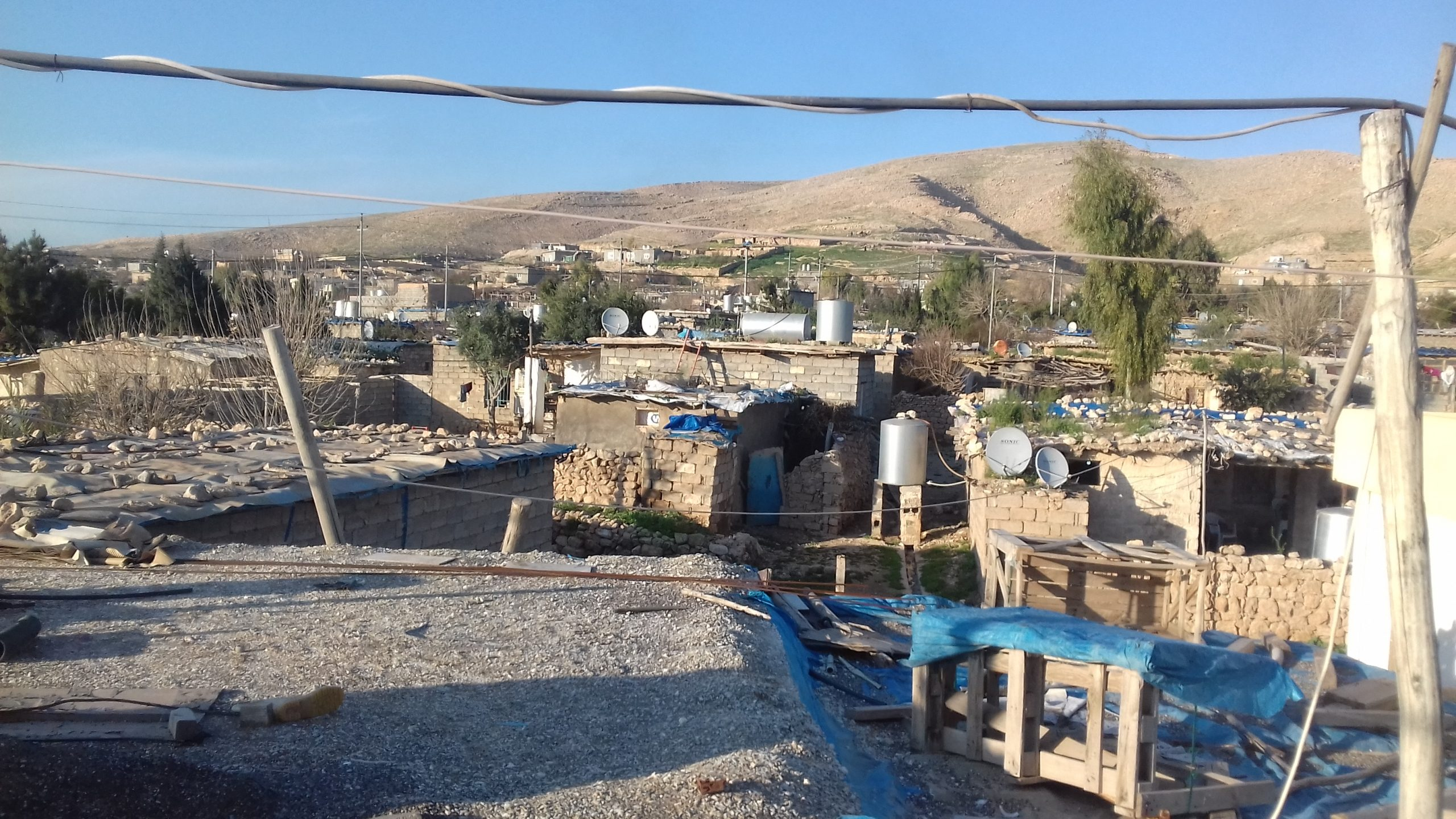 campo profughi kurdo, marzo 2019