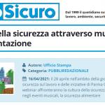 PuntoSicuro - La cultura della sicurezza attraverso musica, arte e alimentazione