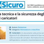 PuntoSicuro - La normativa tecnica e la sicurezza degli operatori dei caricatori