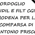 Cordoglio Nidil e Filt Cgil Modena per la scomparsa di Antonio Prisco, rider napoletano e attivista Nidil e Cgil nazionale