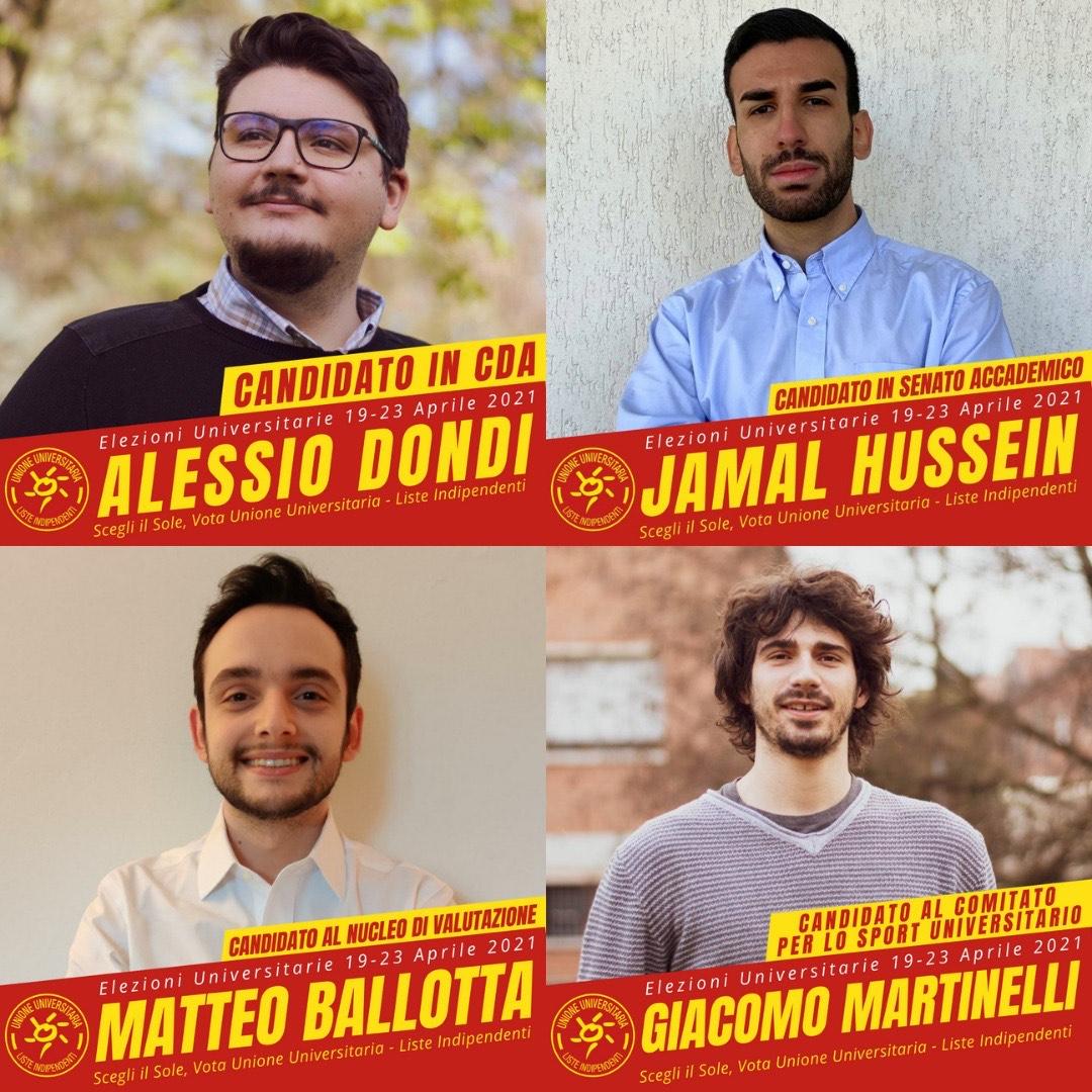 candidati Udu Organi Maggiori