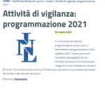 frontespizio programma INL 2021