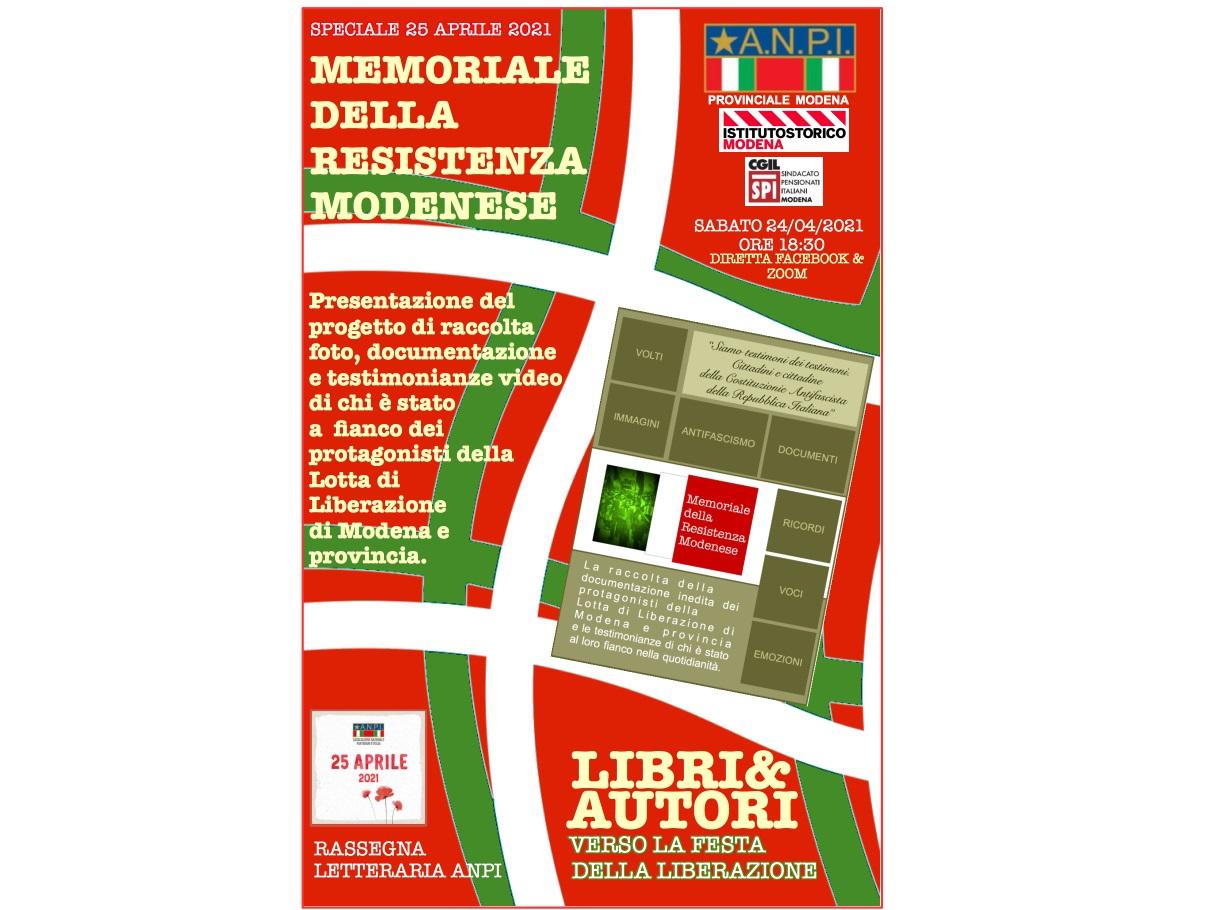 progetto memoriale della resistenza modenese