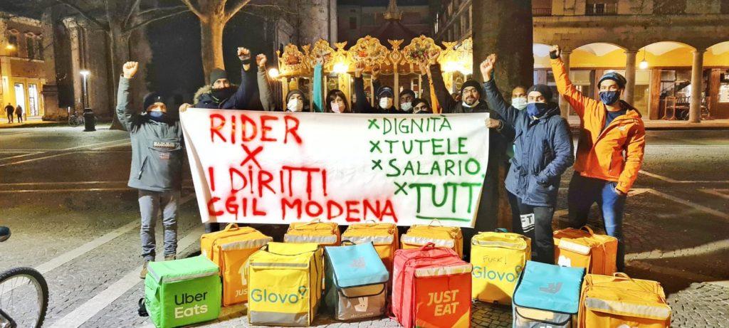 rider piazza Matteotti sera 2021-03-26