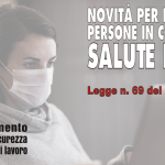 Dipartimento Salute e Sicurezza Cgil Modena - Novità per il lavoro di persone in condizioni di salute fragile - Legge n. 69 del 21 maggio 2021