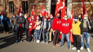 presidio per sciopero traporto merci-logistica, 29.3.21