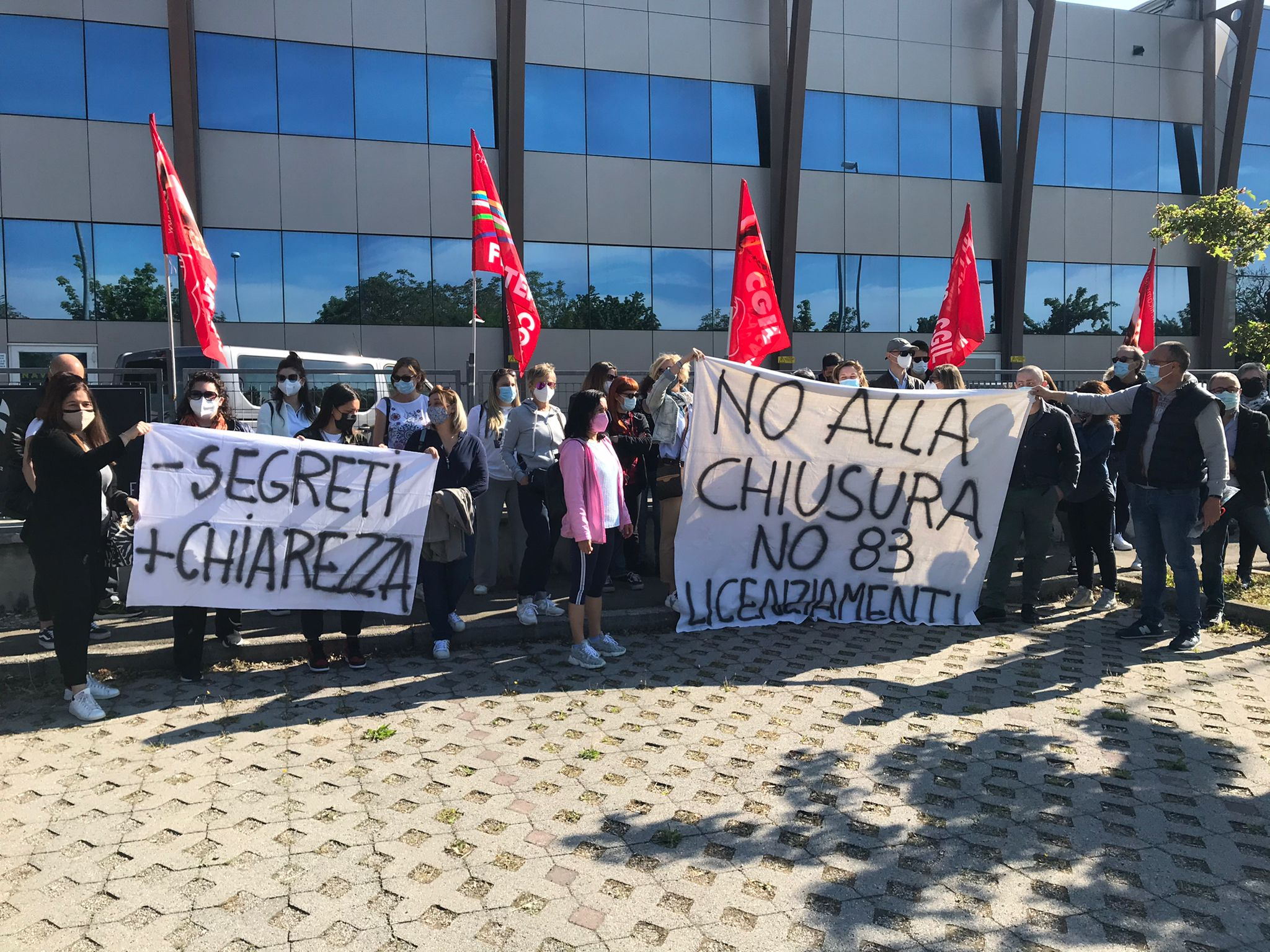 manifattura riese sciopero 5.5.21