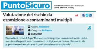 PuntoSicuro - Valutazione del rischio da esposizione a contaminanti multipli