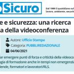 PuntoSicuro - Formazione e sicurezza: una ricerca sull'efficacia della videoconferenza