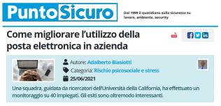 PuntoSicuro - Come migliorare l'utilizzo della posta elettronica in azienda