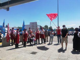 area servizio secchia est sciopero 25.6.21