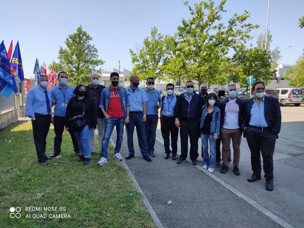 presidio Seta sciopero tpl 1.6.21