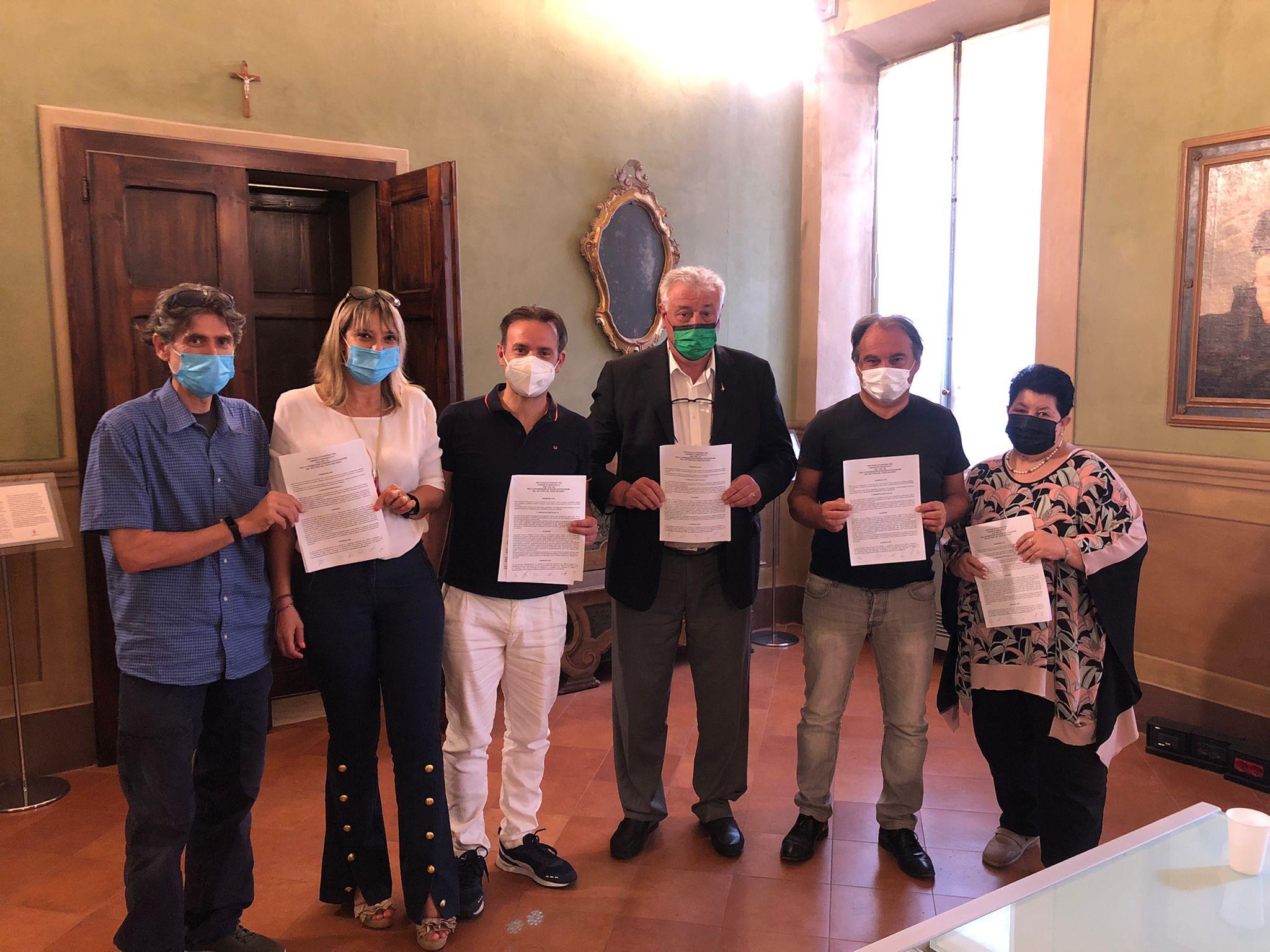 firma protocollo rider Sassuolo 2021-07-15