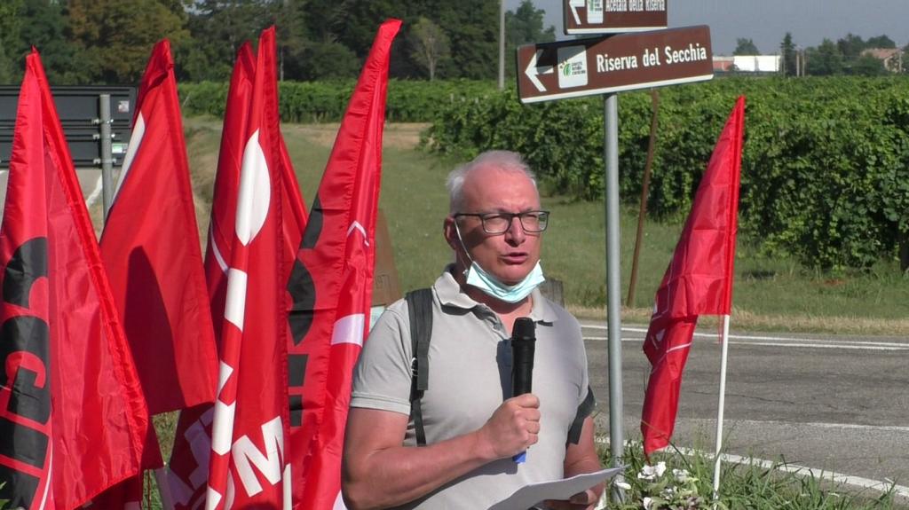 3 agosto 2021, 50° anniversario dell'assassinio di Ernesto Cattani, la commemorazione a Campogalliano