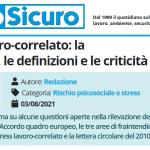 PuntoSicuro - Stress lavoro-correlato: la normativa, le definizioni e le criticità