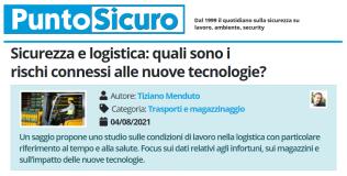 PuntoSicuro - Sicurezza e logistica: quali sono i rischi connessi alle nuove tecnologie?