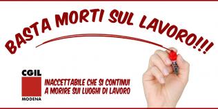 Infortunio mortale alla Bombonette: ora basta. La Cgil Modena si mobilita - 3/8/2021