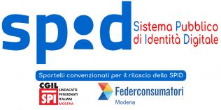 Sportelli convenzionati per il rilascio dello SPID (Sistema Pubblico di Identità Digitale) - Spi Cgil e Federconsumatori Modena