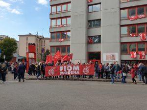 presidio antifascista camera del lavoro 10.10.21