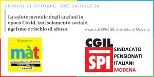Salute mentale anziani - Spi Cgil Modena - Màt 2021