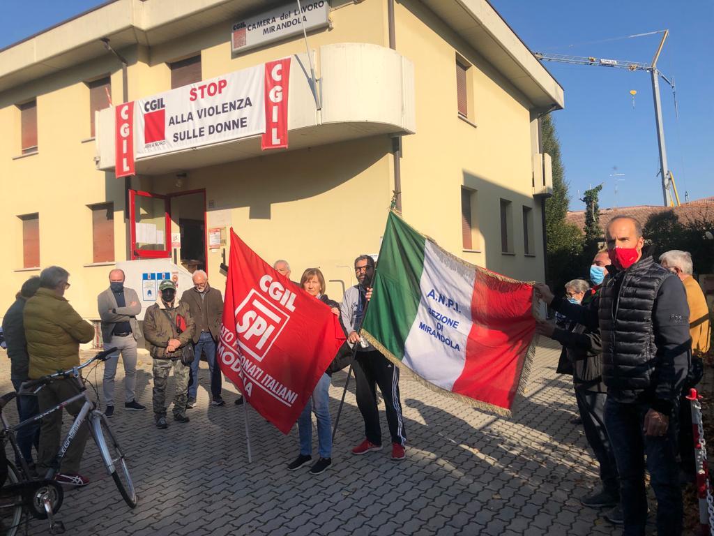Cgil Mirandola, 9.10.21