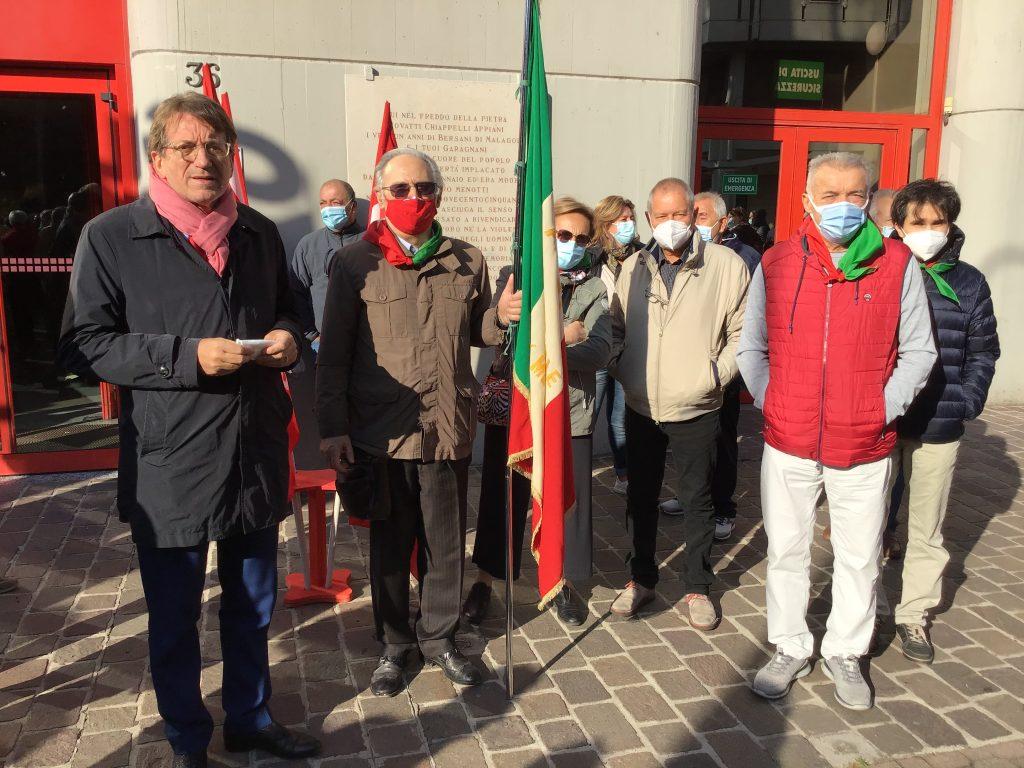 sindaco Muzzarelli con delegazione Anpi (1)